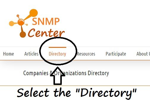 Companies & Organizations Directory - the SNMP center.clipular