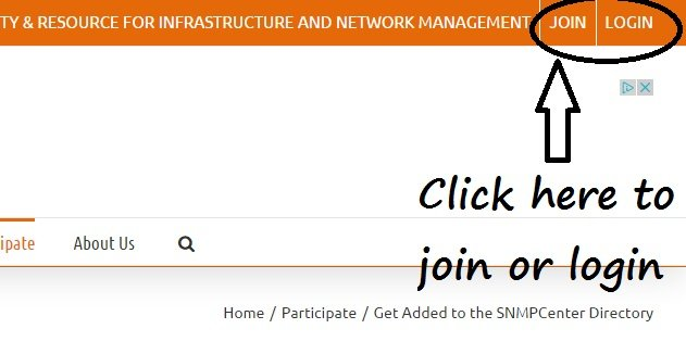 Get Added to the SNMPCenter Directory - the SNMP center.clipular