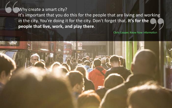Humanizing smart cities