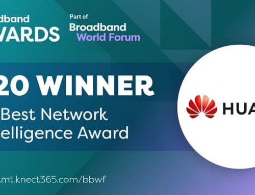 Huawei iMaster NCE-FAN Awarded Best Network Intelligence at Broadband World Forum 2020